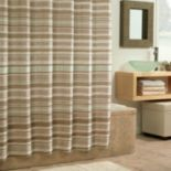 Excell Glacier Fabric Shower Curtain