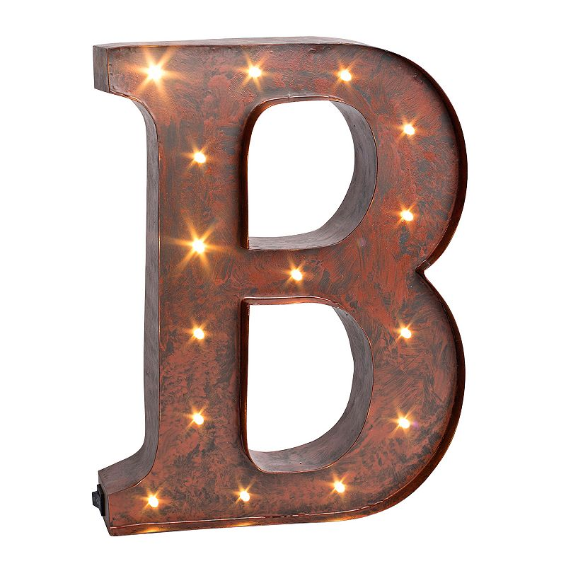 Wall Decor Letter B : Brown color wall decor kohl s