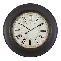 Decor Therapy Roman Numeral Wall Clock