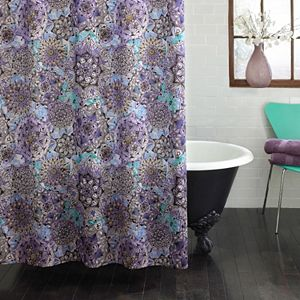 Excell Glinda PEVA Shower Curtain