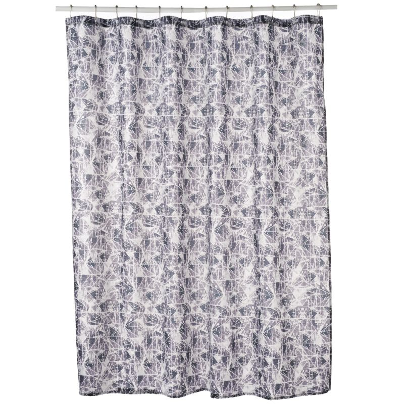 Excell Constellation Fabric Shower Curtain
