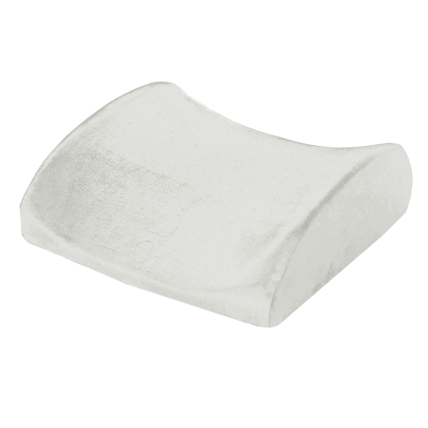 natural pedic lumbar support memory foam pillow
