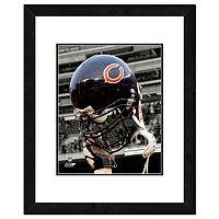 Chicago Bears Team Helmet Framed 11