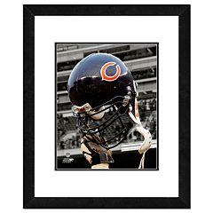 Chicago Bears Team Helmet Framed 11' x 14' Photo