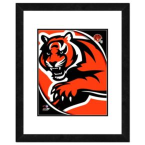 "Cincinnati Bengals Team Logo Framed 11"" x 14"" Photo"