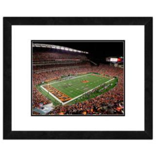 """Cincinnati Bengals Stadium Framed 11"""" x 14"""" Photo"""