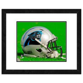 "Carolina Panthers Team Helmet Framed 11"" x 14"" Photo"