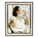 Bombay? 11'' x 14'' Mirrored Frame