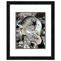 Dallas Cowboys Team Helmet Framed 11