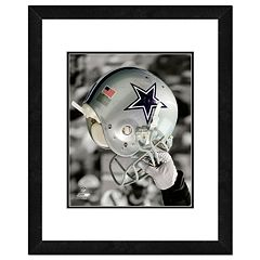 Dallas Cowboys Team Helmet Framed 11' x 14' Photo