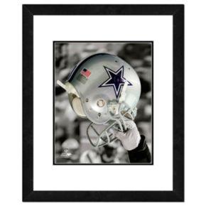 "Dallas Cowboys Team Helmet Framed 11"" x 14"" Photo"