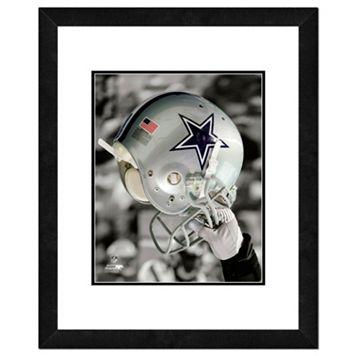Dallas Cowboys Team Helmet Framed 11