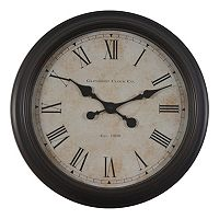 Decor Therapy Global Glenmont Wall Clock