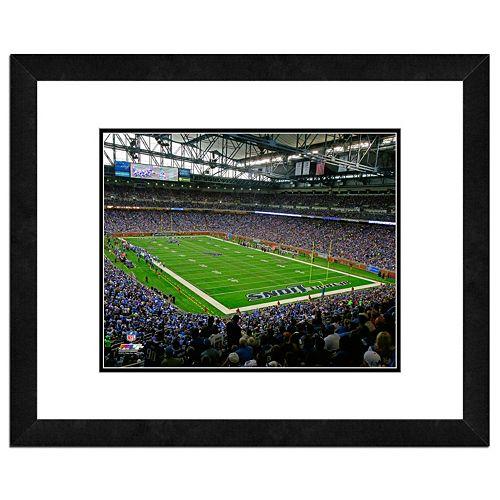 Detroit Lions Stadium Framed 11