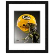 "Green Bay Packers Team Helmet Framed 11"" x 14"" Photo"