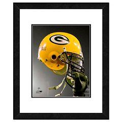 Green Bay Packers Team Helmet Framed 11' x 14' Photo