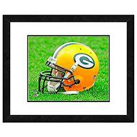 Green Bay Packers Team Helmet Framed 11