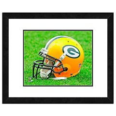 Green Bay Packers Team Helmet Framed 11' x 14' Photo