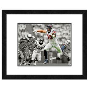 """JJ Watt Framed 11"""" x 14"""" Photo"""
