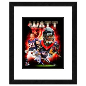 "JJ Watt Framed 11"" x 14"" Photo"