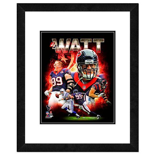 JJ Watt Framed 11 x 14 Photo