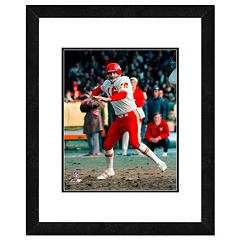 Len Dawson Framed 11' x 14' Photo