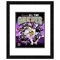 Minnesota Vikings All-Time Greats Framed 11