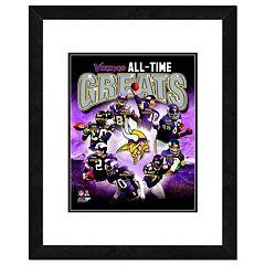 Minnesota Vikings All-Time Greats Framed 11' x 14' Photo