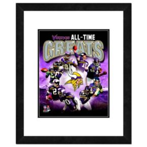 "Minnesota Vikings All-Time Greats Framed 11"" x 14"" Photo"