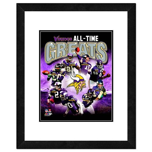 Minnesota Vikings All-Time Greats Framed 11