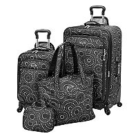Waverly Boutique 4 pc Luggage Set