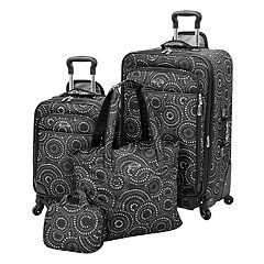Waverly Boutique 4 pc Luggage Set