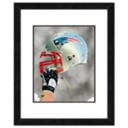 "New England Patriots Team Helmet Framed 11"" x 14"" Photo"