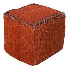 Artisan Weaver Solid Pouf