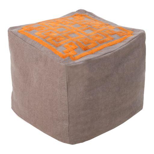 Artisan Weaver Maze Pouf