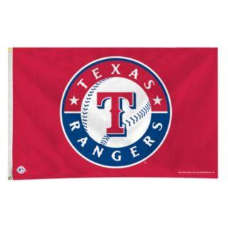 Texas Rangers Red Banner Flag
