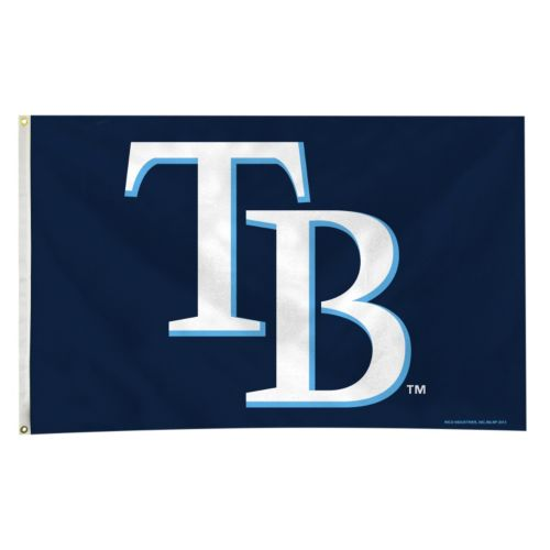 Tampa Bay Rays Navy Banner Fla...