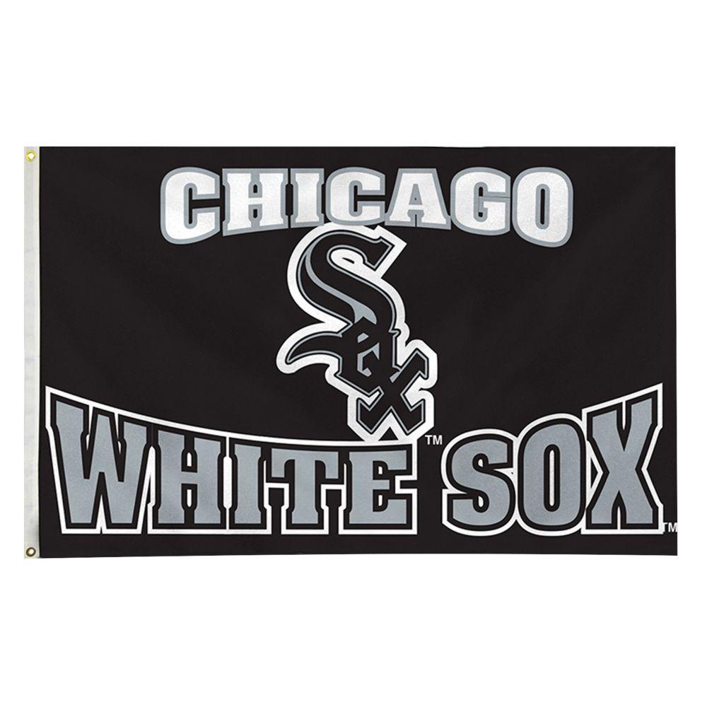 white sox banner flag