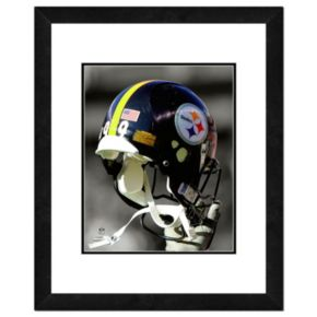 "Pittsburgh Steelers Team Helmet Framed 11"" x 14"" Photo"