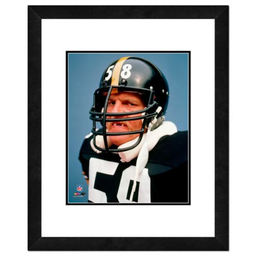 "Jack Lambert Framed 11"" x 14"" Photo"