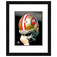 San Francisco 49ers Team Helmet Framed 11