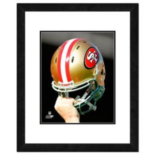 "San Francisco 49ers Team Helmet Framed 11"" x 14"" Photo"