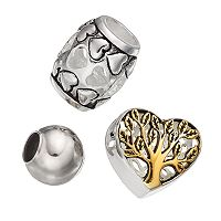 Individuality Beads Sterling Silver Two Tone