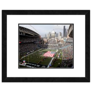 "Seattle Seahawks Stadium Framed 11"" x 14"" Photo"