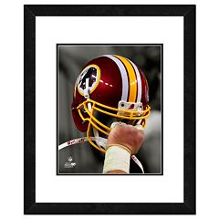 Washington Redskins Team Helmet Framed 11' x 14' Photo