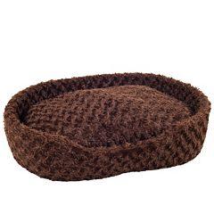 PAW Cuddle Round Plush Pet Bed - 26 1/2'' x 39 1/2''
