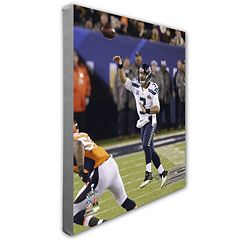 Russell Wilson Seattle Seahawks 16' x 20' Canvas Photo