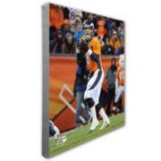 "Peyton Manning Denver Broncos 16"" x 20"" Canvas Photo"