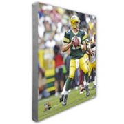 Aaron Rodgers Green Bay Packers 16' x 20' Canvas Photo