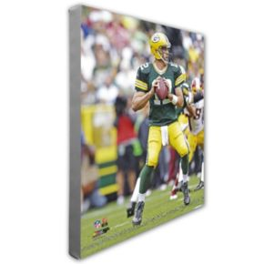 "Aaron Rodgers Green Bay Packers 16"" x 20"" Canvas Photo"